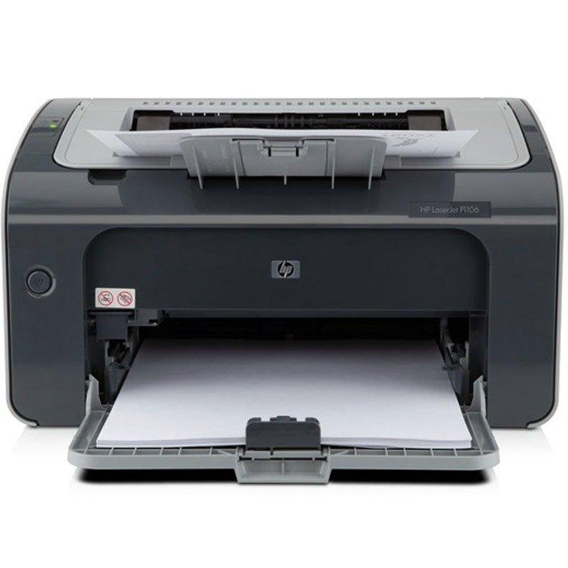 Máy in  HP Hewlett - Packard LaserJet Pro P1106 đen máy in laser A4 in in thương mại nhỏ in USB.