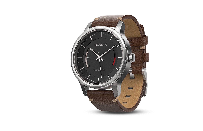 Đồng hồ thông minh  Garmin giai Minh vivomov e Classics series đồng hồ thông minh... Vàng hồng da dâ