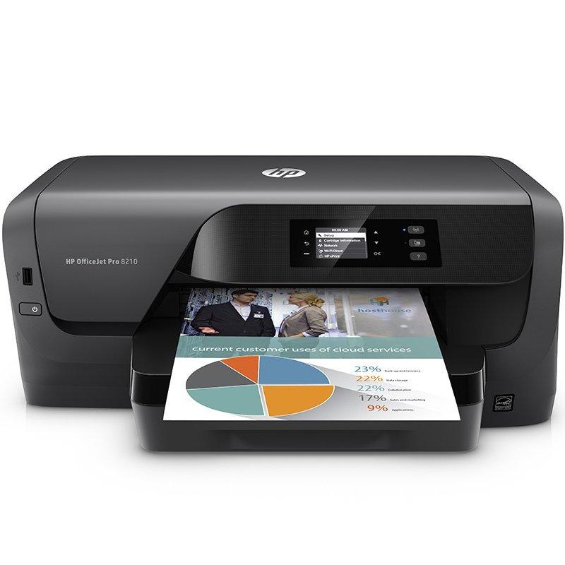 Máy in  HP Hewlett - Packard OfficeJet Pro 8210 Office in màu.