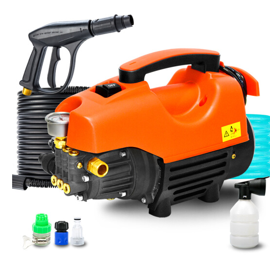 Nước tẩy rửa xe máy điện áp cao 220V Mojo, súng phun nước rửa xe máy rửa xe máy bơm cao áp, súng phu