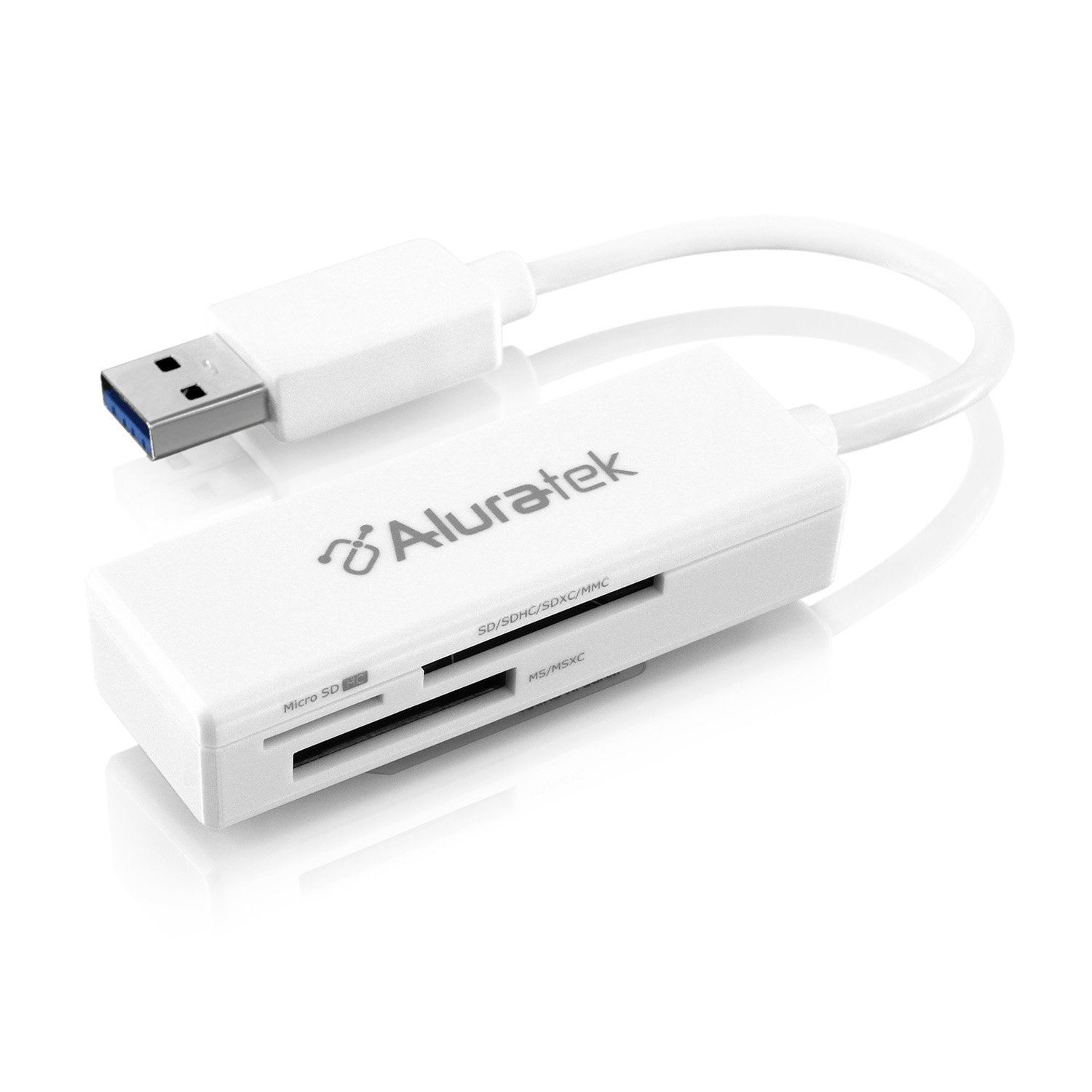 Aluratek USB. 3.0 MultiMedia Card Reader (aucr300f)