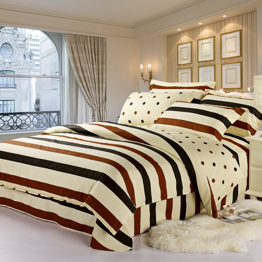 twill tem bốn mảnh hôn phu khăn trải giường AB Edition áp dụng 1,5 mét /1.8 mét giường thời Trần.