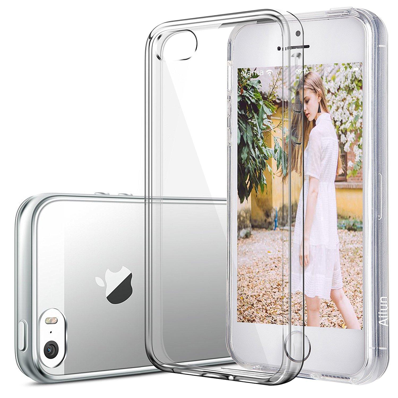 AILUN Chính điện thoại iPhone iPhone 5S bảo vệ hệ vỏ điện thoại iPhone 5 vỏ Alan giảm xóc đưa TPU tr