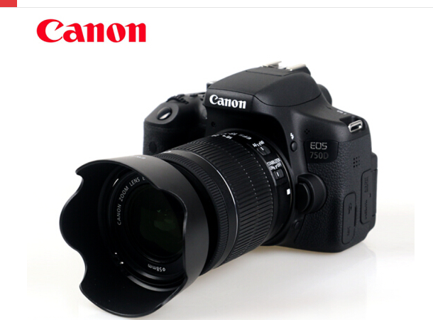Canon EOS 750D (EF-S 18-55mm F / 3.5-5.6is STM) bộ