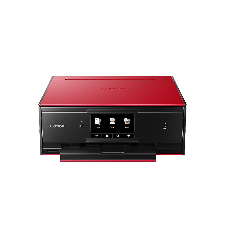 Máy in  Canon PIXMA ts9055 một máy in phun – màu đỏ.