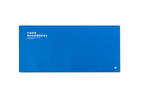 Mousepad so - mi (mi) với bột thấm nước Mousepad xanh khổng lồ.