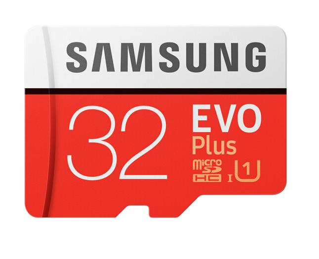 Samsung (SAMSUNG) lưu trữ tốc độ cao tốc độ đọc thẻ 32GB 95MB/s Class10 TF (Micro plus phiên bản nân