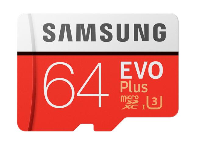 Samsung (SAMSUNG) lưu trữ thẻ 64GB đọc tốc độ 100MB/s 4K Class10 tốc độ cao (Micro thẻ SD. TF Plus n