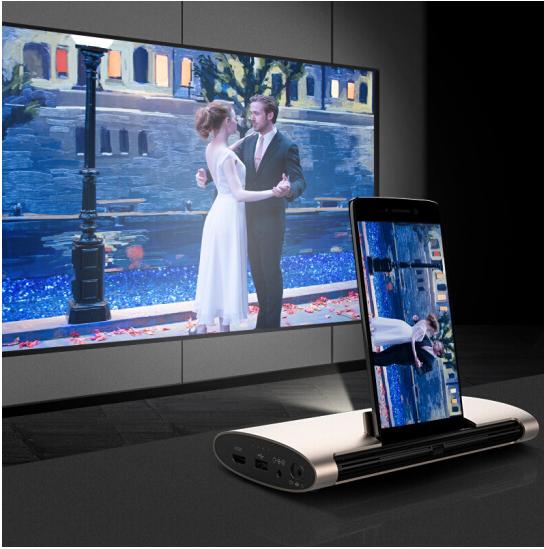 Cast từ Desktop Quả hạch (JmGO) trong máy gia dụng thông minh khôn ngoan M6 Mini cầm tay máy chiếu 3
