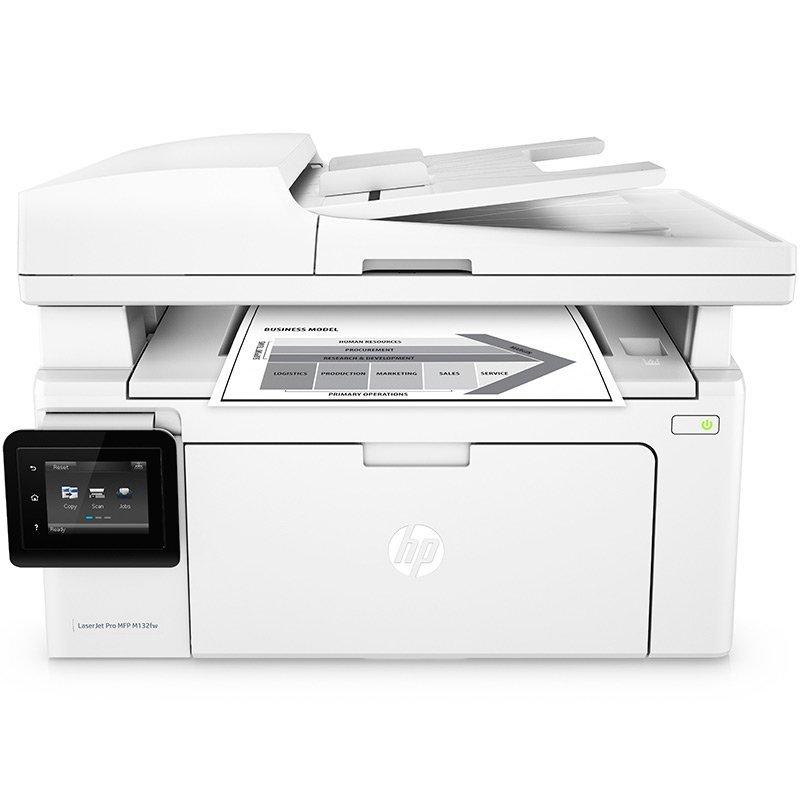 Máy in  HP/ Hewlett - Packard M132fw A4 đen trắng có nhiều khả năng một máy in laser, máy vô tuyến m