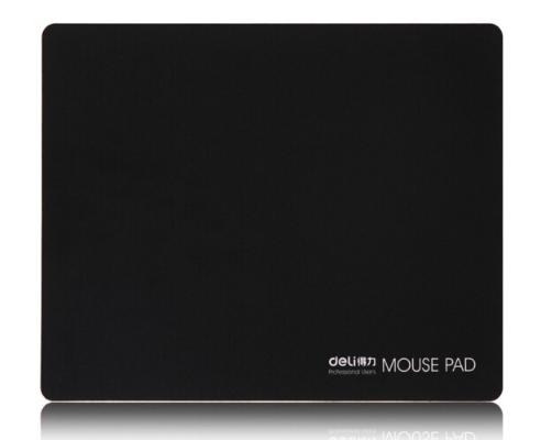 Mousepad, cánh tay phải (Deli) 3692 mài mòn cao su tấm lót chuột đen.
