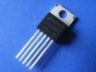 Chuyển mạch bán dẫn LM2596T-ADJ mới NS điều chỉnh điện áp regulator TO-220 linh kiện điện tử với một