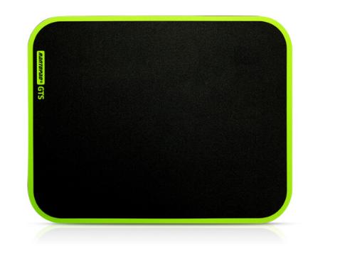 Mousepad radi mở rộng (Rantopad) GTS keo nhựa đệm Gaming mousepad đen chơi cổ điển.