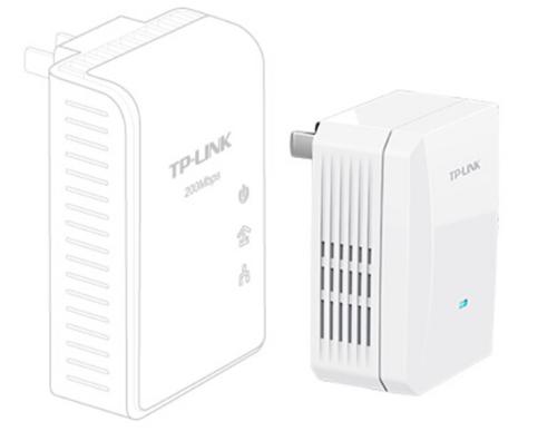 Router TP-LINK TL-PA201 bộ 200M dây cáp điện adapter hai nạp điện con mèo đi xuyên tường IPTV phối h