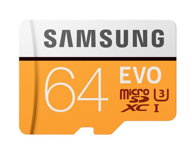 Samsung (SAMSUNG) lưu trữ thẻ 64GB tốc độ truyền 100MB/s 4K Class10 tốc độ TF (Micro thẻ nhớ SD. Phi