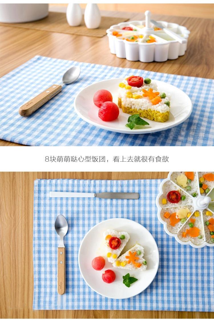 Khuôn làm bánh Trùng hợp ngẫu nhiên ở nhà cơm chết trẻ em bentō sáng tạo sản phẩm bánh bếp công cụ l