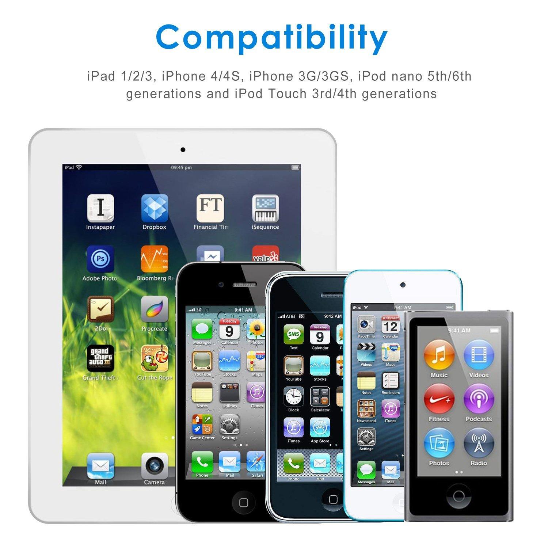 Thị trường điện thoại di động và linh kiện   Mỹ Apple iPhone 4S 4 hoặc 1 mét dây sạc dữ liệu thường