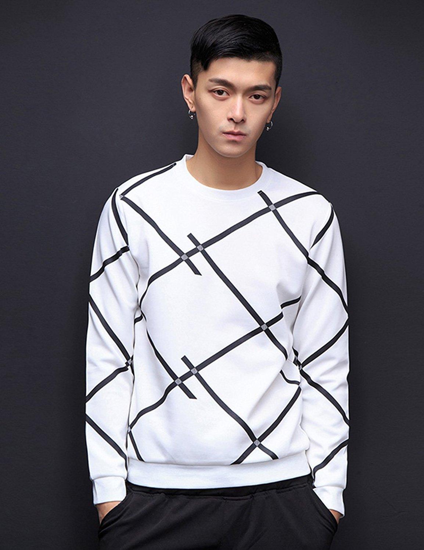 trai Mạnh Xuân mới mùa hè dài tay áo thun lỏng áo bộ áo choàng lớn một cách thoải mái đầu M0283 trai