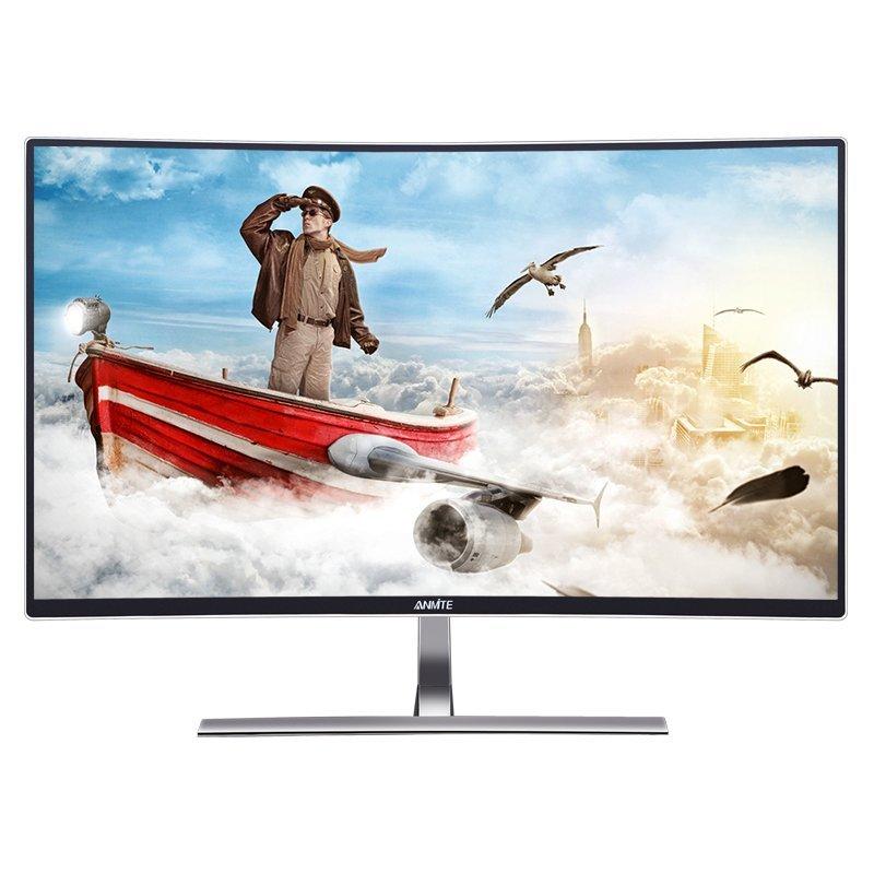 Anmite  Anmite AN-320W02D 32 inch viền màn hình độ nét cao 2K hẹp bề mặt cong của màn hình máy tính