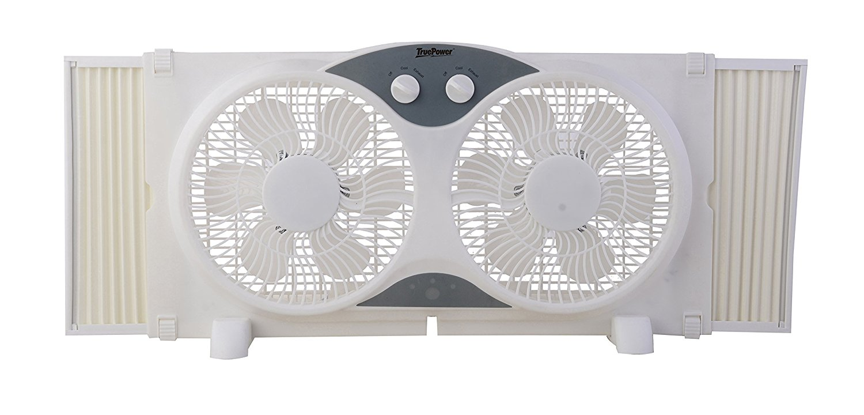 TruePower   Hàng xách tay đảo cửa sổ quạt điện 22.9 cm.