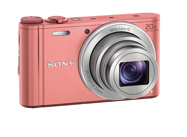 SONY Máy ảnh Sony (SONY) DSC-WX350 xách tay máy ảnh kỹ thuật số, máy camera / Card / hồng (khoảng 18