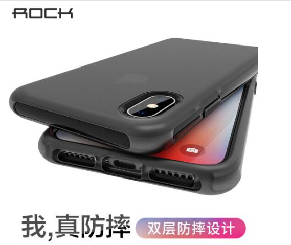 ROCK Locke (ROCK), táo X/10 vỏ bảo vệ hệ điện thoại iPhoneX/10 mạnh mẽ chống ngã silica gel mềm vỏ đ