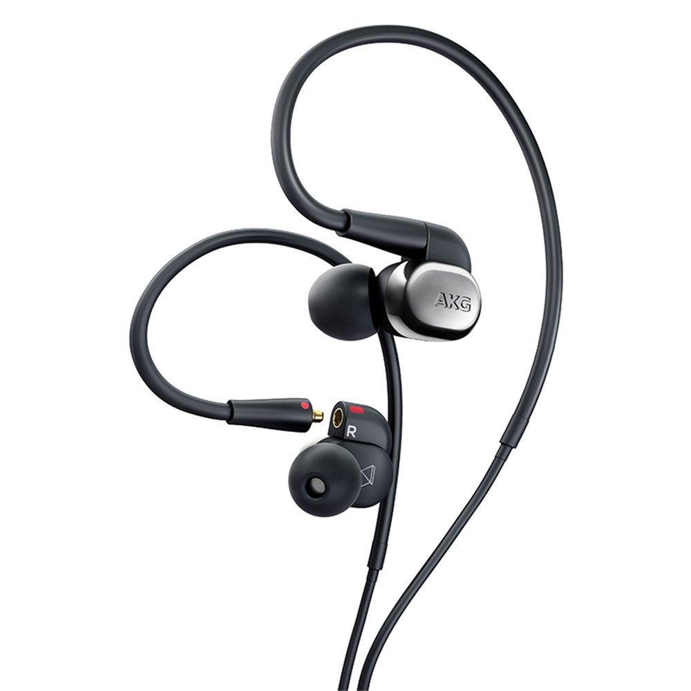 AKG treo khoảng loại tai nghe tai nghe lọt tai vòng loại tai nghe con chíp đơn vị hỗn hợp sắt cao ph