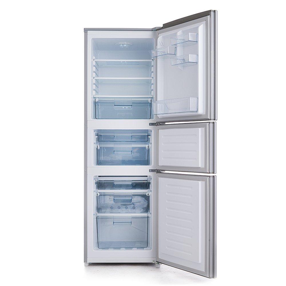 Ronshen BCD 218wd11ny 218 lít ba cửa tủ lạnh không có kem bạc vải ka - Ki