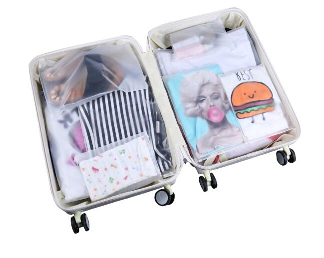 Quần áo túi Kyo Huệ JH0159 dày của trang phục lấy túi nhựa bao bì túi du lịch gắn 35*45cm 20 20 Silk