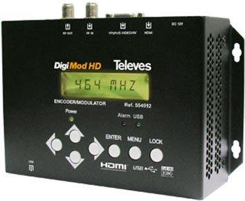 Televes    554912 Hydra Tây - - mã hóa con số của bản đồ độ nét cao HDMI + / - DVBT USB.