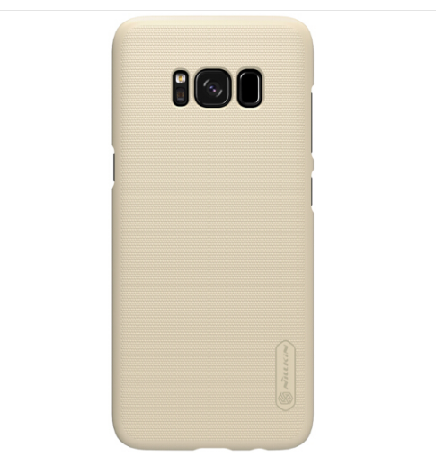 NILLKIN (NILLKIN) Samsung S8 bảo vệ vỏ điện thoại / bảo vệ bộ / điện thoại bộ màu vàng.