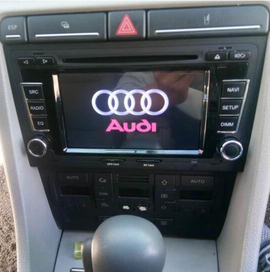 Tích hợp hệ thống điều khiển DVD Audi TT/A3/A4 chuyên dụng Android màn hình 8 hạt nhân lớn dẫn đường