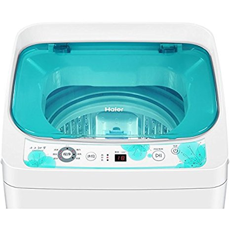 Haier Hale 3.3 kg mini máy giặt tự động hoàn toàn. máy giặt EBM3365W trẻ nhỏ.