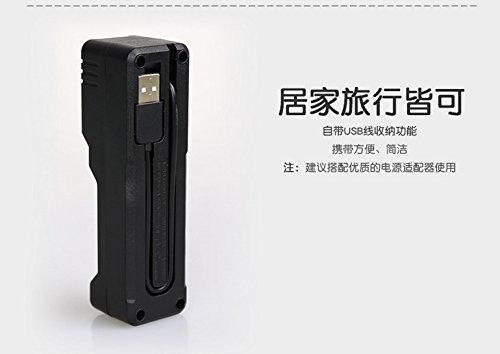 SupFire mới ráp xong chính phẩm đèn phòng chống trả lời 18650 pin sạc chuyên dụng đơn rãnh Trung