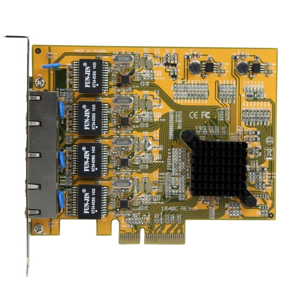 Startech.com 4 cổng PCI Express network adapter thẻ PCIe bốn cổng Nic