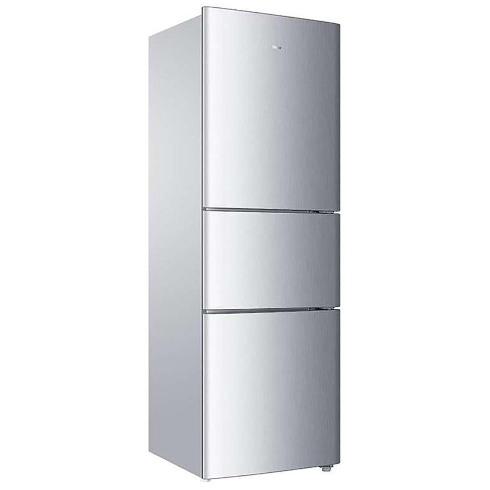 Haier BCD-205STPH 205 lít ba cửa Ba khu vực ấm lạnh (bạc) 3.5 kg lực hai máy tính lớn đông lạnh thảm