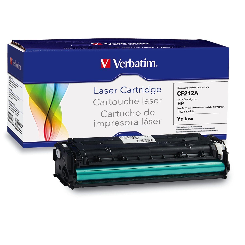 Verbatim HP CF 210 x cao sản lượng tái tạo máy in laser bột màu đen.