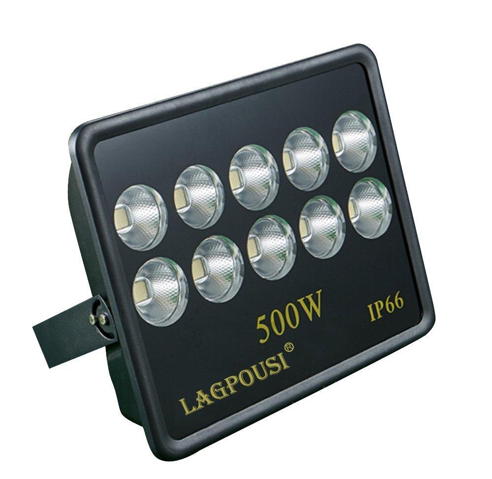 lagpousi    Lãng băng 500W tỏa ánh sáng đèn chiếu sáng góc 60 độ chính xác 6000K trắng chiếu đèn biể