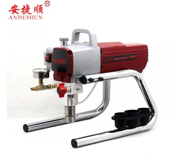 ANJIESHUN áp suất không khí máy phun xịt sơn latex PuTTY máy phun sơn điện máy công cụ máy phun A830