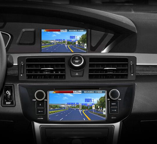 12 triệu Air Duệ 550 6MG6 DVD Navigator GPS xe gắn máy ảnh lùi lại một 550/MG6 độ nét cao dự kiến ng