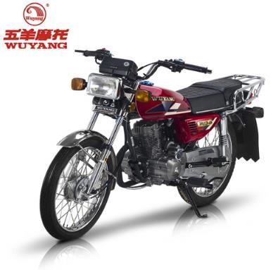 WUYANG Quảng Châu (WUYANG) xe mô tô xe máy cổ điển WY125-6A CG125 gói bưu đỏ sống được giúp đỡ.