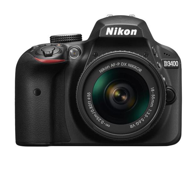 Nikon máy ảnh Nikon (Nikon) D3400 vào cửa camera (AF-P DX 18-55mm f/3.5-5.6G VR chống rung máy)