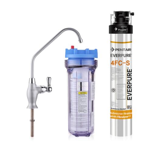Everpure (Everpure) 4FC-S máy lọc nước sạch cấp 5 thùng lớn mạnh không có dòng nước sạch và ức thẳng