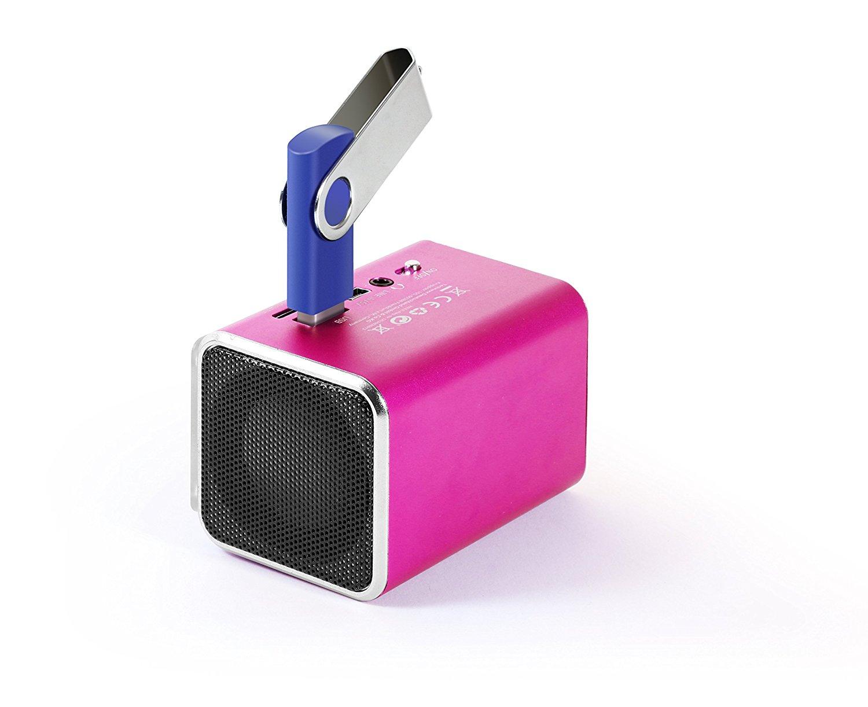 Technaxx MusicMan SoundStation loa stereo hoà nhịp MIDI có thể áp dụng cho iPhone / iPod / MP3.