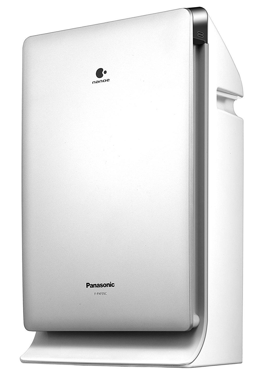 Panasonic Panasonic máy lọc không khí F-PXF35C-S (bạc) nanoe ™ nhỏ nhặt sạch nước ion thuốc có chức