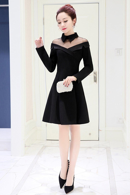 Đầm  - phía Tây Seoul chính thức dịp xuân mới nhỏ váy nữ mặc áo mùa hè SQY1813
