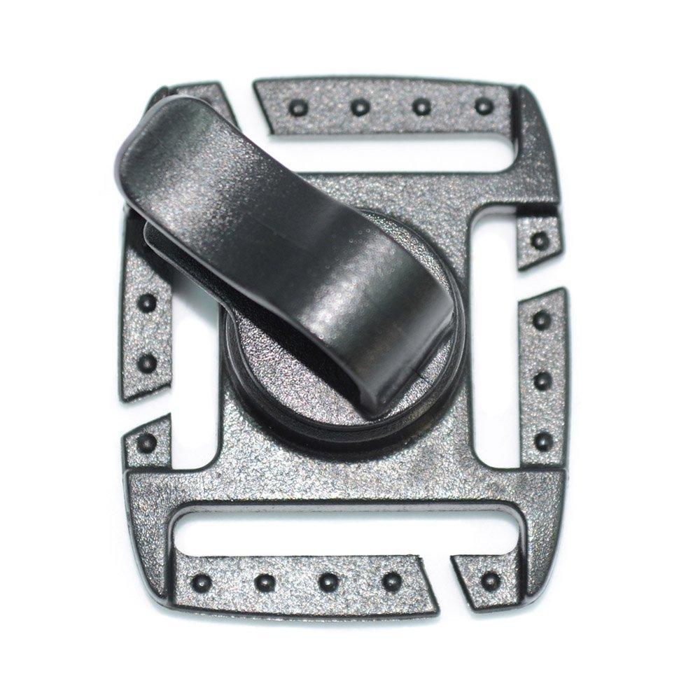 mazama Designs Clip được áp dụng trong thiết kế ống túi trát uống, đen.