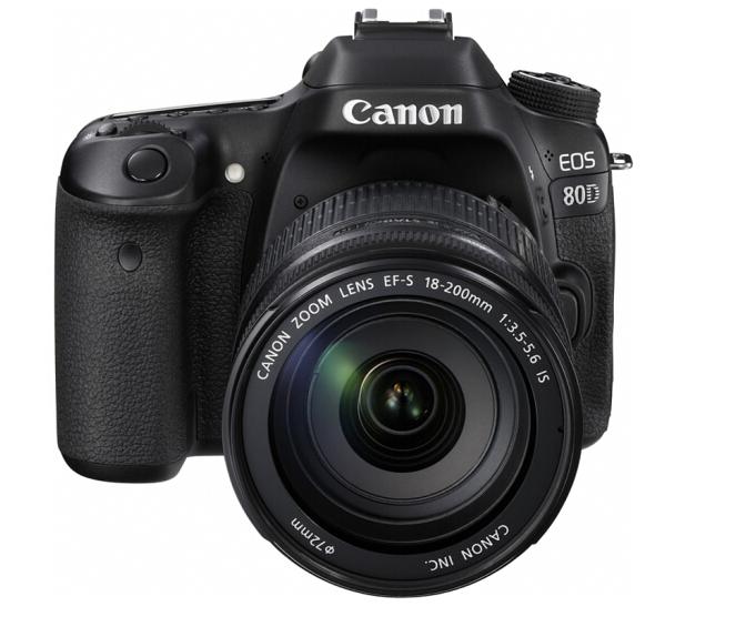 Canon máy ảnh Canon (Canon) EOS 80D (EF-S 18-200mm f/3.5-5.6 IS) 2420 triệu điểm ảnh thập tự điều ch