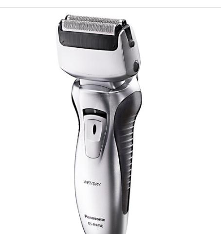 Panasonic Panasonic (Panasonic) dao cạo điện của dao cạo ướt nước rửa hai đầu ES-RW30-S song đao.