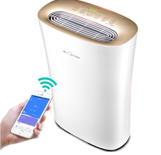 Midea Mỹ (Midea) KJ210G-C42 máy lọc không khí, trừ formaldehyde khói thuốc WiFi điều khiển thông min